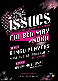 Issues: Bingo Players (flyer)