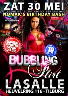 Bubbling Flirt (flyer)
