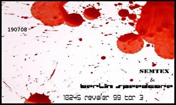 Semtex & Berlin Speedcore (flyer)