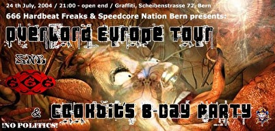 Overlord Europe Tour (flyer)