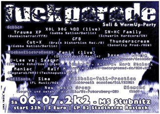 Fuckparade (flyer)