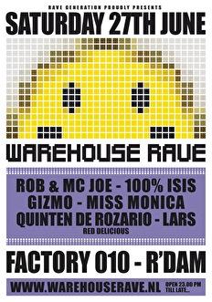 Warehouse Rave (flyer)