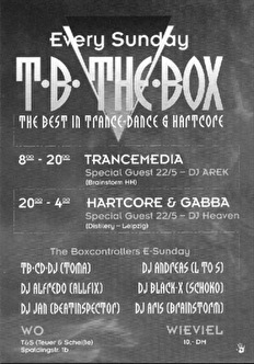 T.B. The Box (flyer)