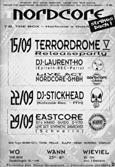 Terrordrome V Releaseparty (flyer)