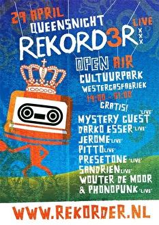 Rekord3r Live (flyer)