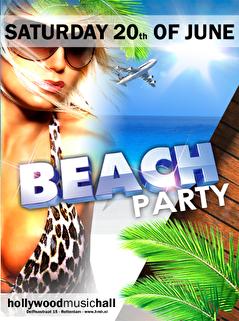 Beach Party (flyer)