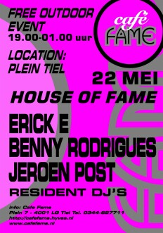 House Of Fame (flyer)