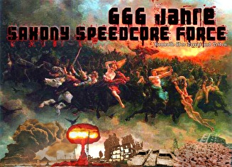 666 Jahre Saxony Speedcore Force (flyer)