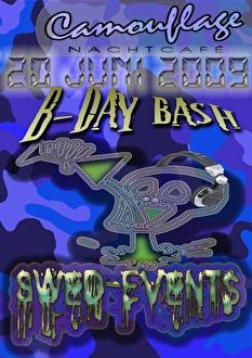 B-Day bash Swed (flyer)