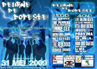 Deurne De Dopeste (flyer)