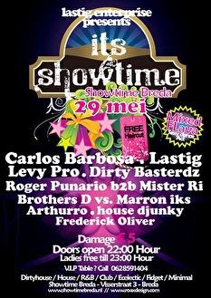 Its Showtime #2 (flyer)