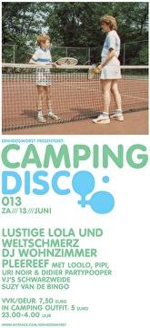 Campingdisco (flyer)