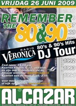 Remember the 80's & 90's (flyer)