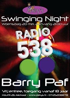 Swinging Night (flyer)