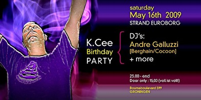 K.Cee Birthdaybash (flyer)