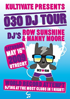 030 Dj tour (flyer)