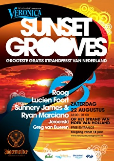 Veronica Sunset Grooves (flyer)