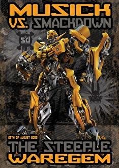 Musick vs Smackdown (flyer)