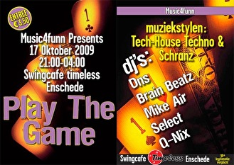 Play The Game (flyer)