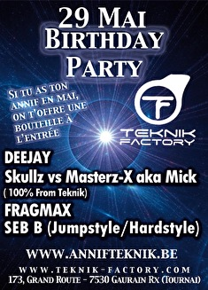 Birthday party (flyer)