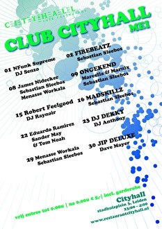 Club Cityhall (flyer)