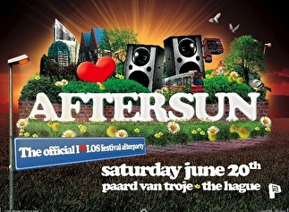 AfterSun the official I love Los afterparty (flyer)