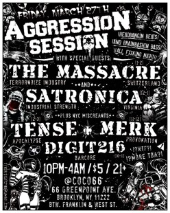 Aggression Session (flyer)