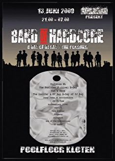 Band of hardcore (flyer)