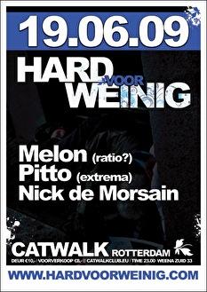 Hard voor Weinig (flyer)