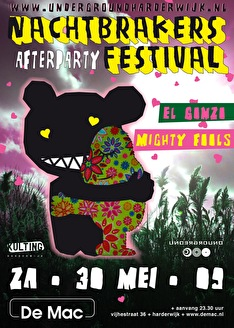 Nachtbrakers Festival Afterparty (flyer)