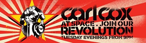 Carl Cox at Space (flyer)