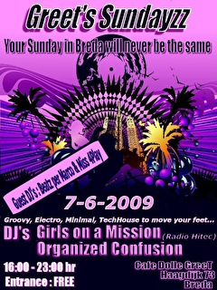 Greet's Sundayzz (flyer)