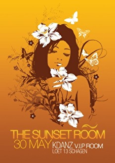 The Sunset Room (flyer)