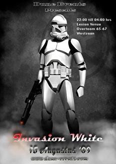Invasion White (flyer)