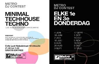 Metro DJ Contest (flyer)