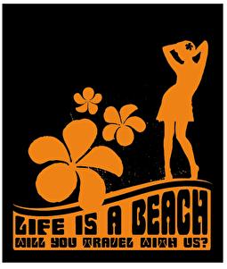Dansen aan Zee Beachtour 2009 (flyer)