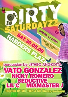 Dirty Saturdayzz (flyer)