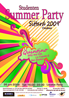 Studenten Summerparty (flyer)