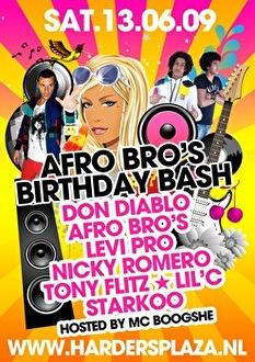 Afrobro's Birthday Bash (flyer)