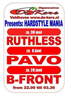 Hardstyle Mania (flyer)