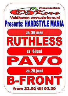 Hardstyle Mania (flyer)