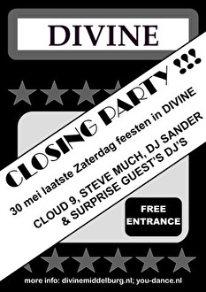 Divine Closing Party! (flyer)