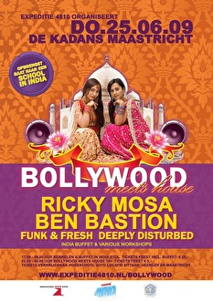 Bollywood meets House (flyer)