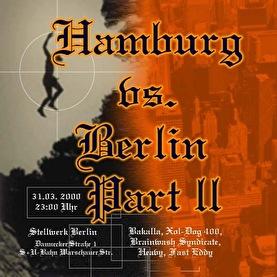 Hamburg vs Berlin (flyer)