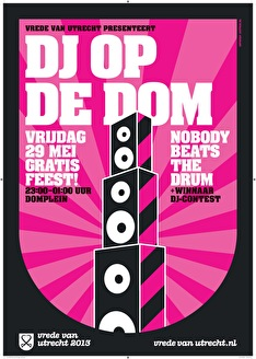 DJ op de Dom (flyer)
