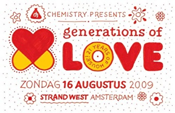 Generations of Love Festival (flyer)