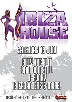 Ibiza house (flyer)