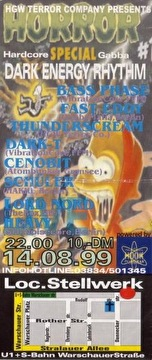 Dark Energy Rhythm (flyer)