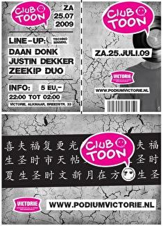 Club Toon (flyer)