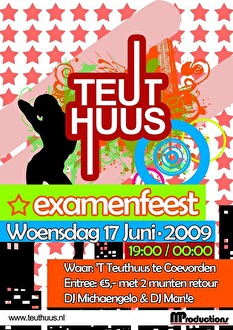 Examenfeest 2009 (flyer)